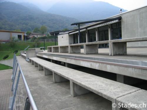 Le site de tous les stades de suisse for Centro sportivo le piscine guastalla